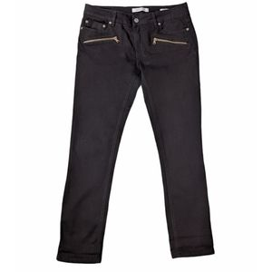 Kenneth Cole Reaction Skinny Jeans size 10 Black